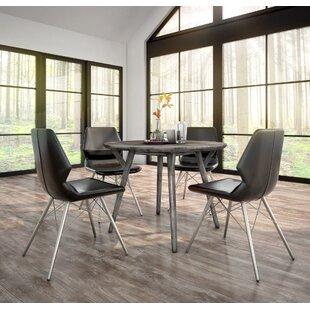 Foundry Select Anastasia Contemporary 5 Piece Dining Set