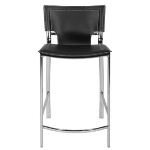 Hayley 26 Bar Stool (Set of 2) Orren Ellis