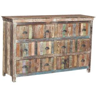 Desirae 6 Drawer Dresser by Bloomsbury Market