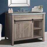 Ayan 42 Single Bathroom Vanity Set by Gracie Oaks