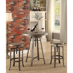 Mccourt Contemporary Adjustable Pub Table Williston Forge