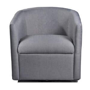 Sebastien Swivel Barrel Chair