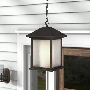 Savala Modern 1-Light Outdoor Hanging Lantern by Winston Porter