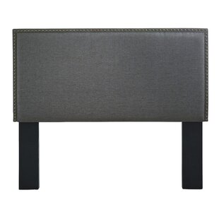 Read Reviews Heberling Full Queen Upholstered Panel Headboard by Charlton Home