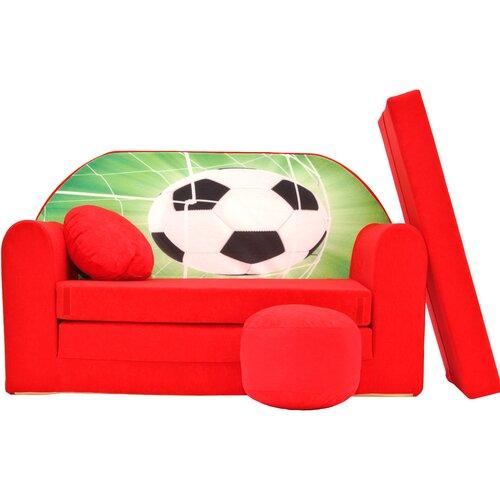 Kindersofa Dendy mit Pouf Roomie Kidz | Kinderzimmer > Kindersessel & Kindersofas | Roomie Kidz