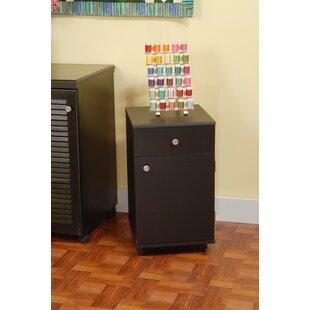 Suzie Sidekick 24.5 H x 14.25 W x 15.5 D Storage Cabinet by Arrow Sewing Cabinets