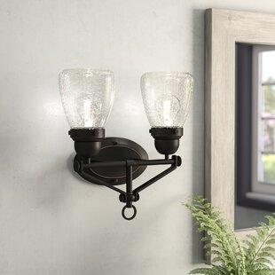 Laurel Foundry Modern Farmhouse Harborcreek 2-Light Vanity Light