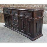 Harrah Carved Buffet Table by Astoria Grand