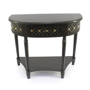 Fuentes Half-Moon Console Table