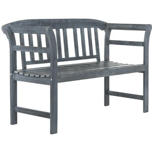 Lark Manor Pellston 2 Seat Wood Garden Bench