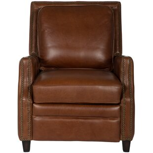 Bischof Leather Manual No Motion Recliner