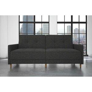 Ziva Linen Convertible Sofa