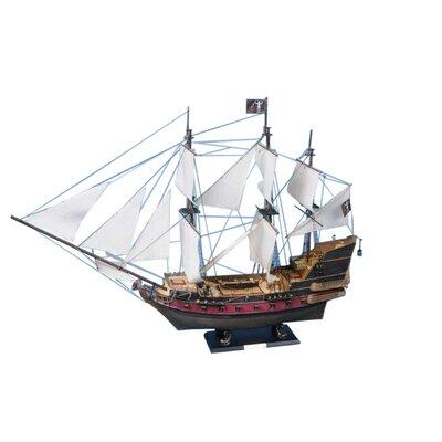 Blackbeard's Queen Anne's Revenge Model Yacht Handcrafted Nautical Decor