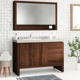Ferris 48 Single Bathroom Vanity Set with Mirror by Foundstone™