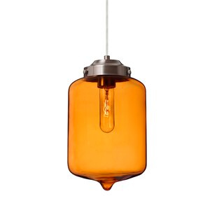 Besa Lighting Olin 1-Light Jar Pendant