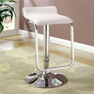 Tabit Adjustable Height Swivel Bar Stool Orren Ellis