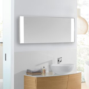 Mercury Row Fowles Edge Electric Bathroom / Vanity Mirror