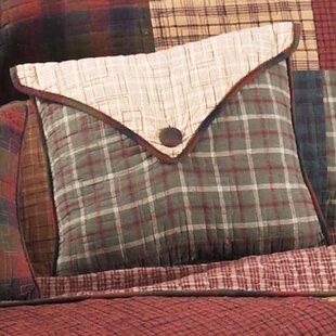 Czapla Square Cotton Throw Pillow