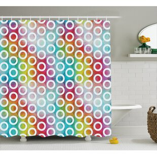 Bubble Fractal Decor Single Shower Curtain