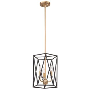 Artcraft Lighting Harmony 3-Light Geometric Chandelier