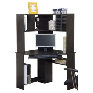 Latitude Run Friedman Corner Desk with Hu..