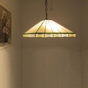Millwood Pines Seth Tiffany 2-Light Dome Pendant