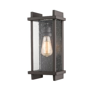 Beeching Outdoor Sconce by Ivy Bronx Read Reviews