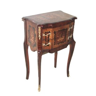 Astoria Grand Maguire End Table with Storage