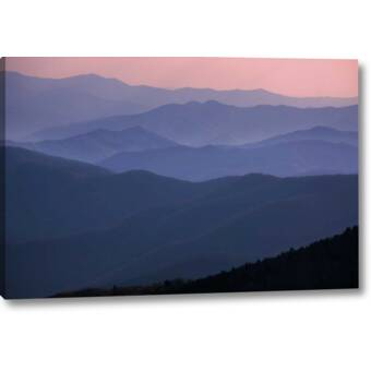18 x 36 ArtWall Linda Parkers Pyrenees in Spring Removable Wall Art