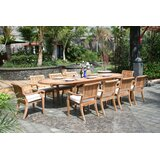 Masten 11 Piece Teak Dining Set