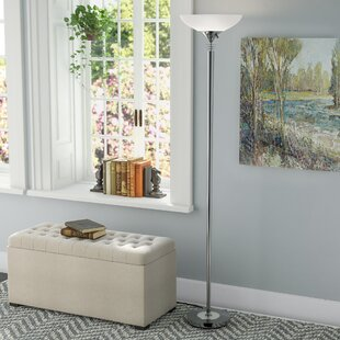 Reviews Knipp 71.5 Torchiere Floor Lamp By Andover Mills