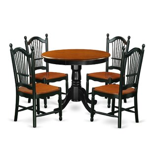 Rune 5 Piece Dining Set