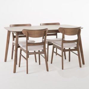 Mid Century Modern Dining Room Tables mid-century modern kitchen & dining room sets you'll love | wayfair