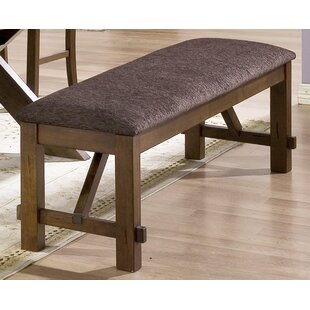 Millwood Pines Ellsworth Faux Leather Bench