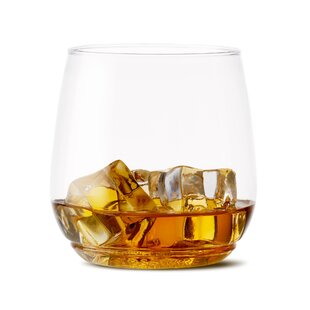 Tumbler Jr 12 oz. Plastic Disposable Whiskey Glass (Set of 48)