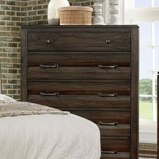 Asuncion 5 Drawer Chest by Foundry Select