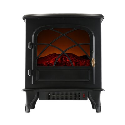 Portable Indoor Home Compact Electric Wood Stove Fireplace Caesar Fireplace