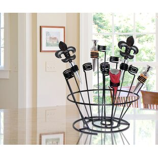 Swirl 1 Bottle Tabletop Wine Rack by Epic..