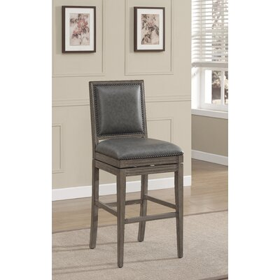 Magnificent Cochran 26 Swivel Bar Stool Loon Peak Squirreltailoven Fun Painted Chair Ideas Images Squirreltailovenorg
