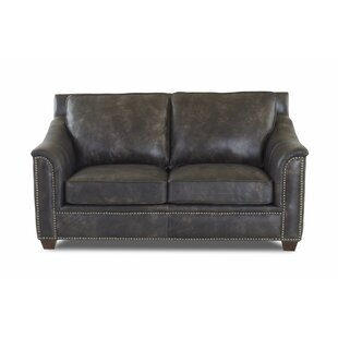 Sasha Leather Loveseat by Foundry Select Reviews