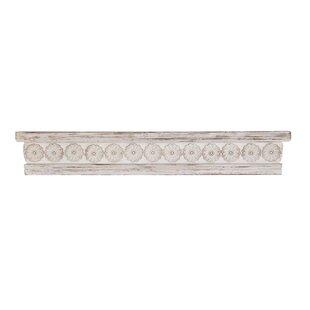 Gorrell Rustic Wood Wall Shelf