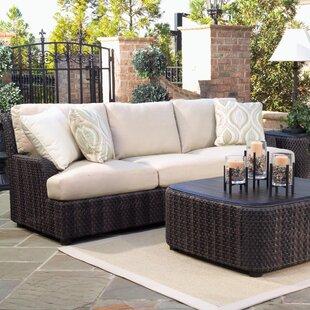Aruba Patio Sofa with Cushions by Woodard