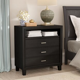 Hoytville 3 Drawer Media Chest by Three Posts