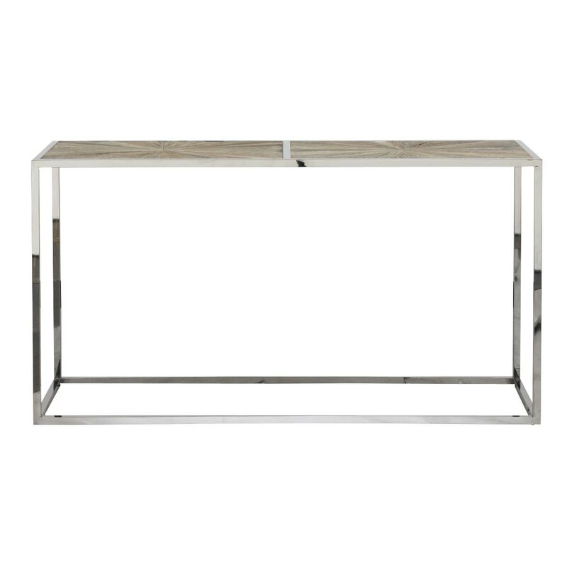 Paulsen Parquet Console Table