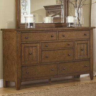 Loon Peak Methuen 6 Drawer Combo Dresser
