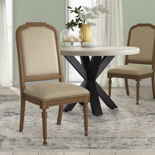 Drumlough Upholstered Dining Chair (Set of 2)