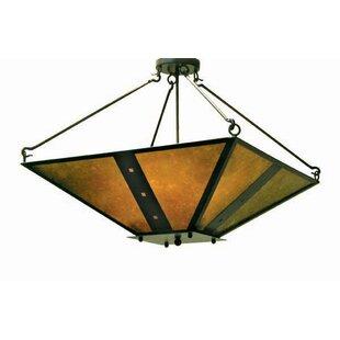 2nd Ave Design Zandra 4-Light Inverted Pendant