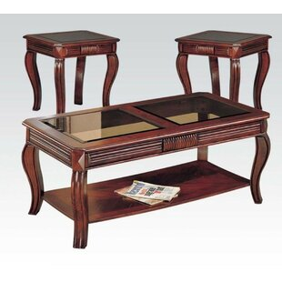 Sheehy 3 Piece Coffee Table Set By Canora Grey