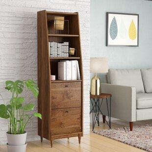 Gamma Narrow Standard Bookcase by Ivy Bronx