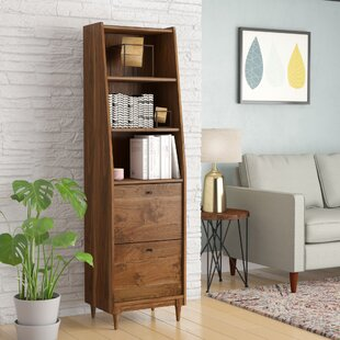 Best Reviews Posner Narrow Standard Bookcase ByMercury Row
